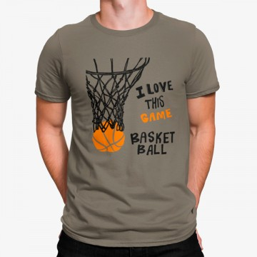 Camiseta Me Encanta este Juego Baloncesto