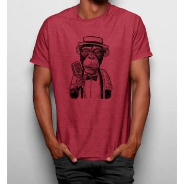 Camiseta Mono Cantante Jazz