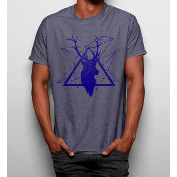 Camiseta Ciervo Geométrico