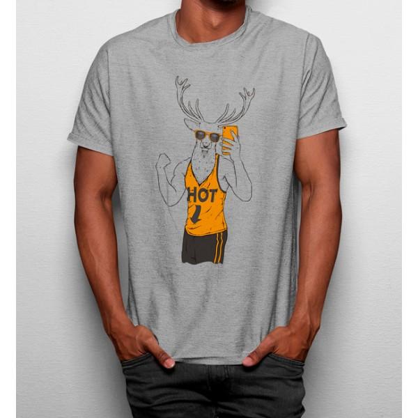 Camiseta Ciervo Selfie