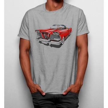 Camiseta Coche Cadillac Rojo