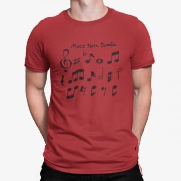 Camiseta Conjunto Notas Musicales