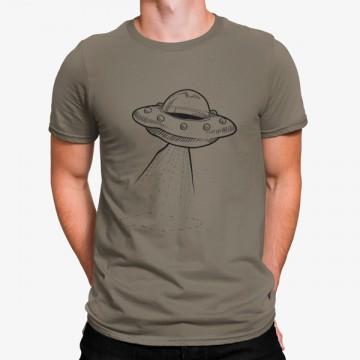 Camiseta Nave Voladora Espacial Ovni