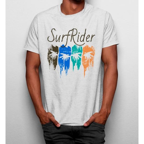 Camiseta Surfista Palmeras