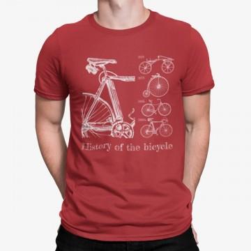 Camiseta Historia de la Bicicleta