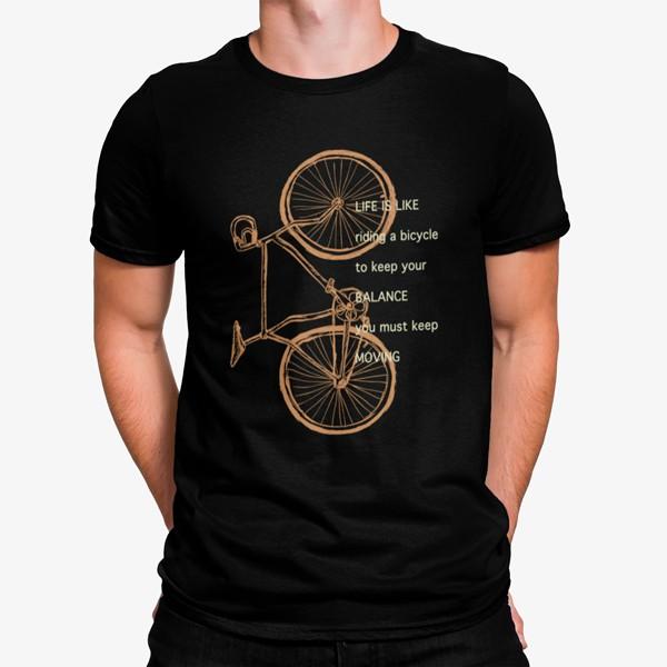 Camiseta La Vida es como una Bicicleta