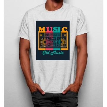 Camiseta Rádio Música Vintage