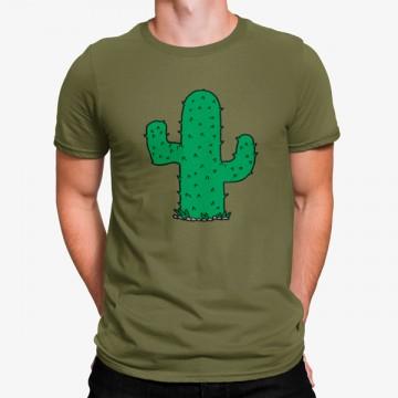 Camiseta Cactus Verde