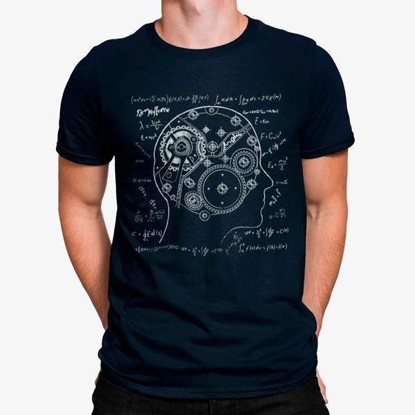 Camiseta Cerebro Robot