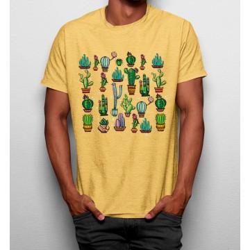 Camiseta Colección de Cactus