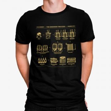 Camiseta El Proceso de la Cervecería