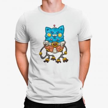 Camiseta Gato Robot