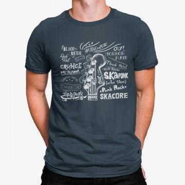 Camiseta Estilos Musicales