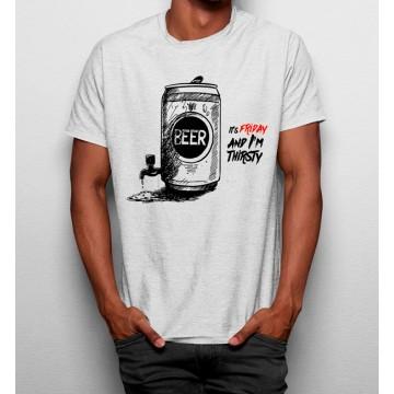 Camiseta Es Viernes Cerveza