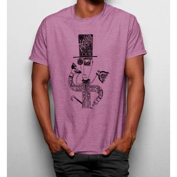 Camiseta Hombre Robot Telefóno