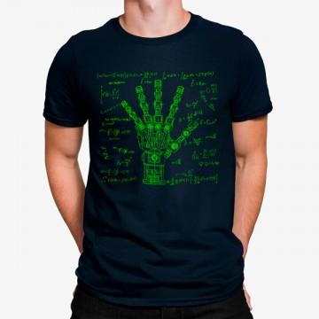 Camiseta Mano Robot