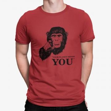 Camiseta Tu Planeta Te Necesita