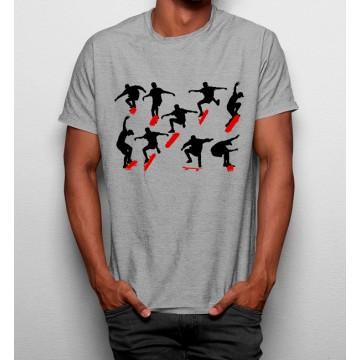 Camiseta Maniobras de Skate