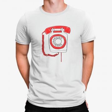 Camiseta Télefono Vintage