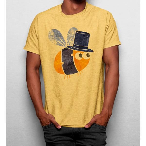 Camiseta Abeja Sombrero