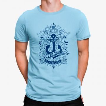 Camiseta Ancla Viaje en Oceano