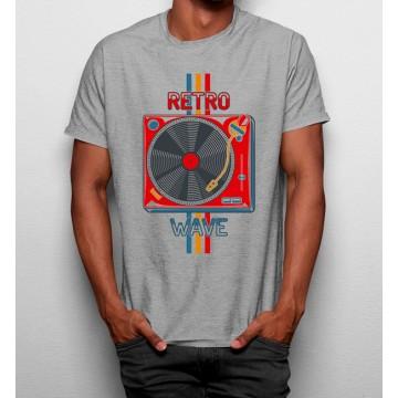 Camiseta Retro Tocadiscos