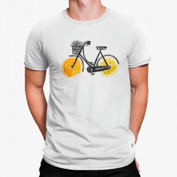 Camiseta Bicicleta Citricos