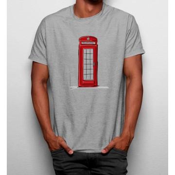 Camiseta Cabina Telefónica Londres