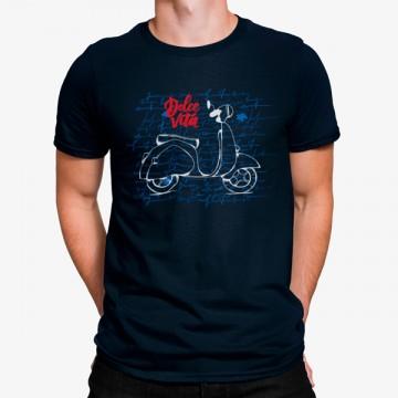 Camiseta Vespa Dolce Vita