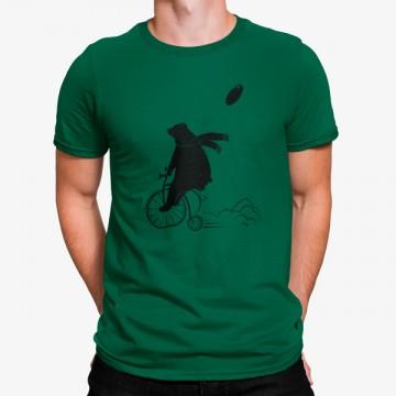 Camiseta Oso en Bicicleta con Globo