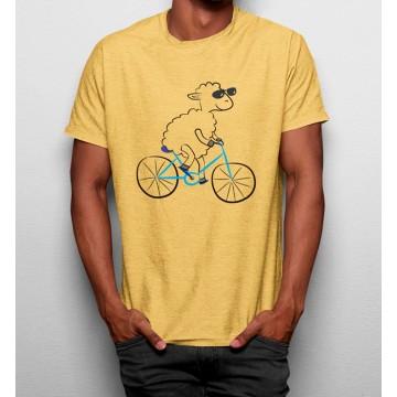 Camiseta Oveja en Bicicleta