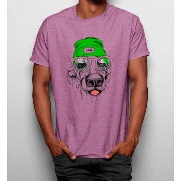 Camiseta Perro de Gorro