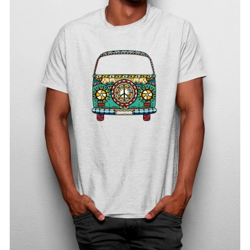 Camiseta Furgoneta Hippie