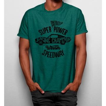 Camiseta Superpotencia Pista de Carreras