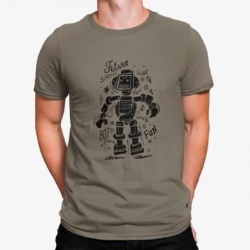 Camiseta Robot es lo Futuro