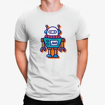 Camiseta Robot Colorido