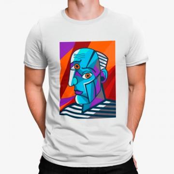 Camiseta Caricatura Picasso