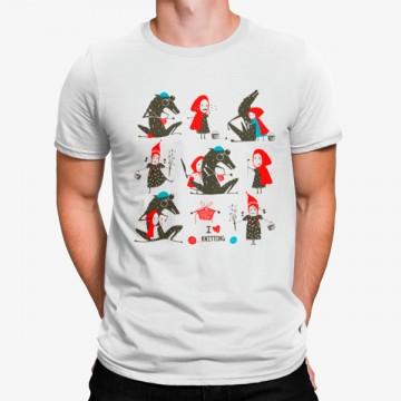 Camiseta Caperucita Roja y Lobo