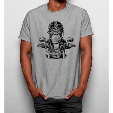 Camiseta Mono Motociclista