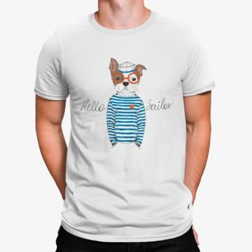 Camiseta Hola Marinero Perro