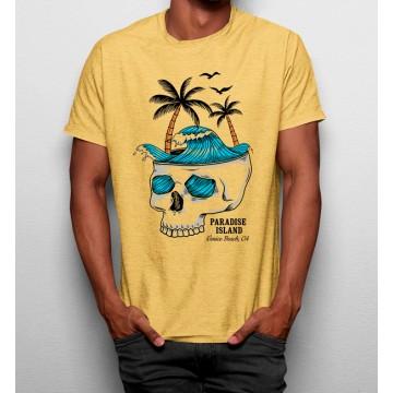 Camiseta Isla del Paraíso Calavera