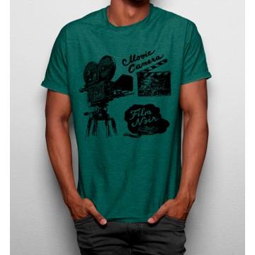 Camiseta Cámara Cinema Vintage