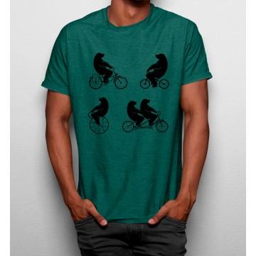 Camiseta Osos en Bicicletas
