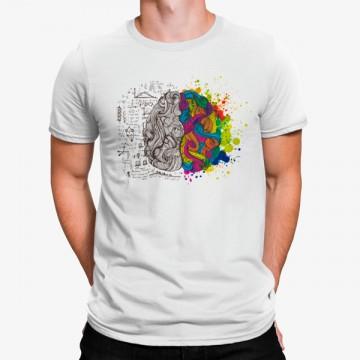 Camiseta Cerebro Imaginación Fórmulas