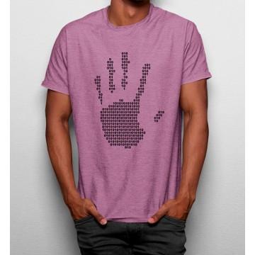 Camiseta Mano Código