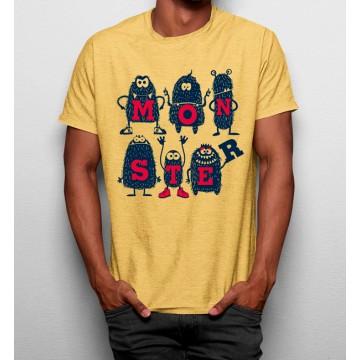 Camiseta Monstruos Monos
