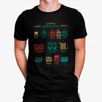 Camiseta Producción de la Cerveza