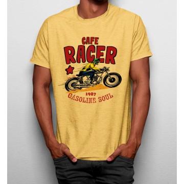 Camiseta Cafe Racer Moto