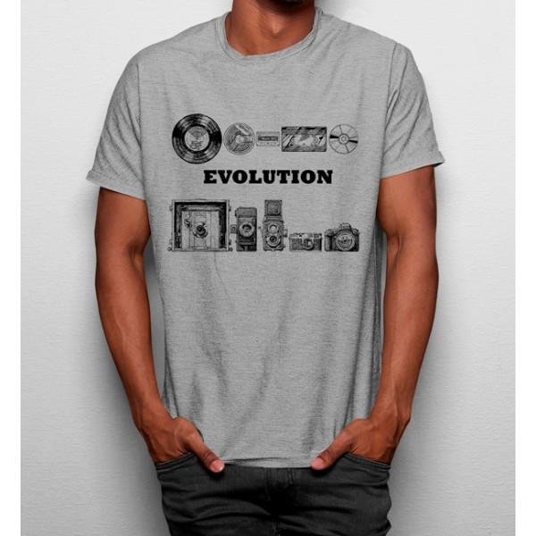 Camiseta Evolución Música